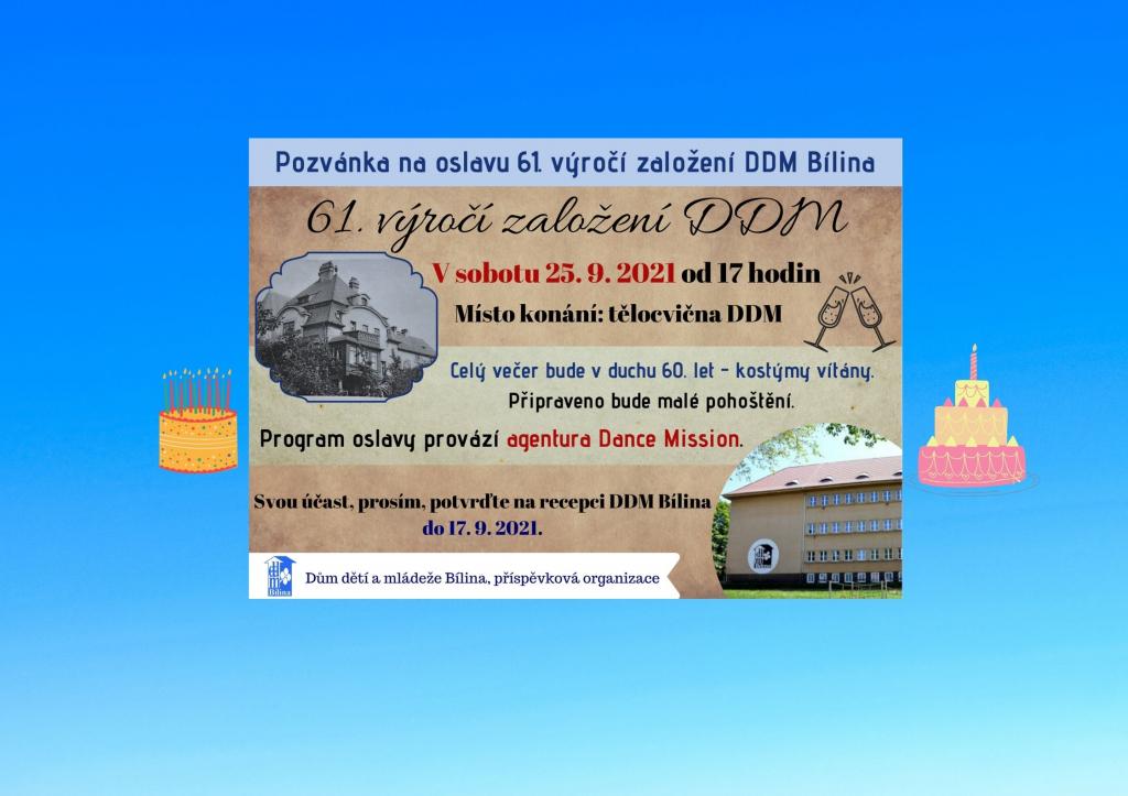 Oslavy 61. výročí DDM Bílina