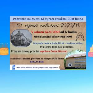 Oslava 61. výročí DDM Bílina
